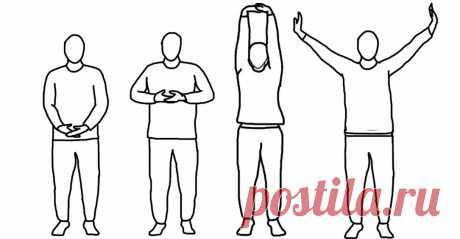 Одно упражнение для снятия болей в спине и плечах, восстановления позвоночника, улучшения работы кишечника и очищения организма   Здоровая жизнь   Яндекс Дзен