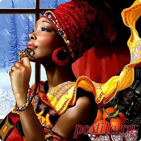 5 полезных привычек африканок | Красота Жизни