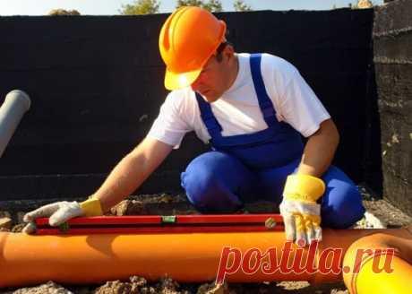 Прокладка трубопроводов и канализации - Строительство и ремонт