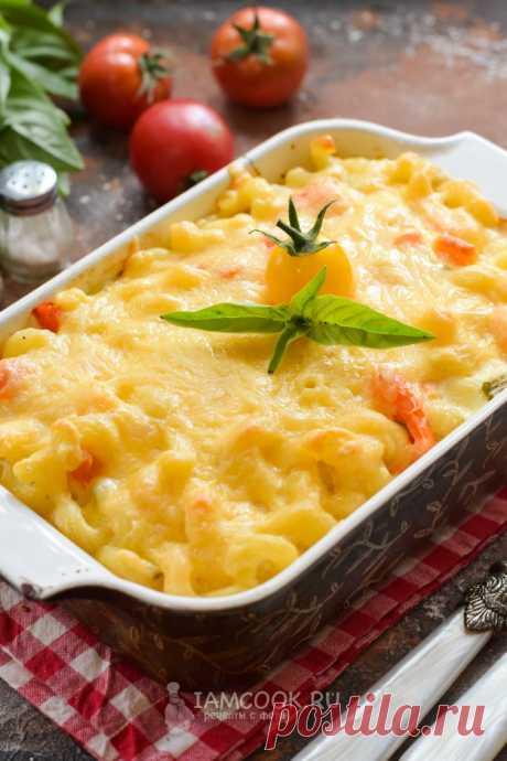 Запеканка из макарон с помидорами и сыром — рецепт с фото пошагово