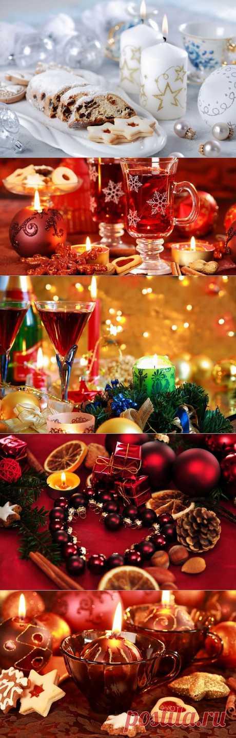 Красивые новогодние композиции | Newpix.ru - позитивный интернет-журнал