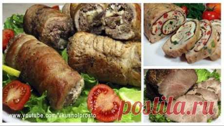 НОВИНКА!!! Мясные Блюда / Новогоднее меню #2 2020 / Meat dishes