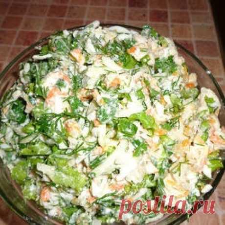 Обалденный салат: тает во рту и никогда не приедается!