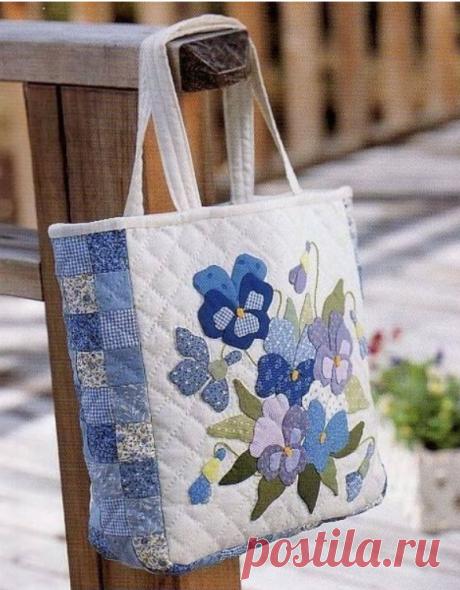 Лоскутные сумочки для вашего вдохновения!