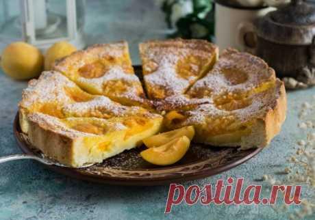 Тарт с абрикосами: рецепт пошаговый с фото | Меню недели