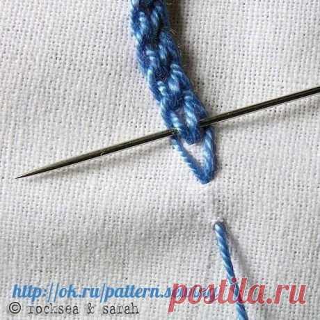 Разные способы вышивки