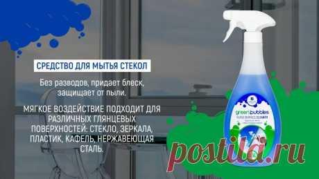 Средство для мытья стекол, пластика и зеркал