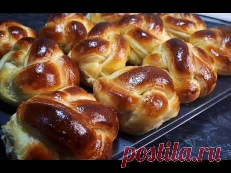 НОВЫЕ ЧУДО ВОЗДУШНЫЕ СЛОЁНЫЕ БУЛОЧКИ по-французски БРИОШИ к чаю на каждый день Tasty Pastries Recipe