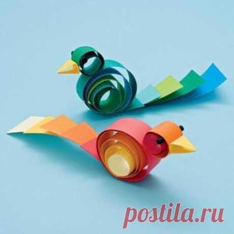 «Птички из бумаги» — карточка пользователя Ксюха П. в Яндекс.Коллекциях