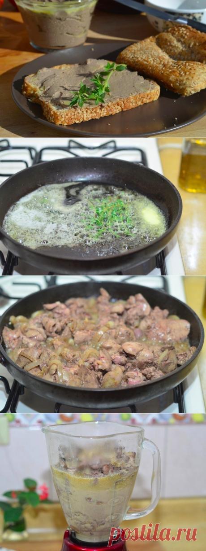 Как приготовить паштет из куриной печени - рецепт, ингредиенты и фотографии