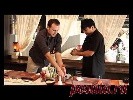 Мастер-класс по приготовлению суши и роллов - YouTube
