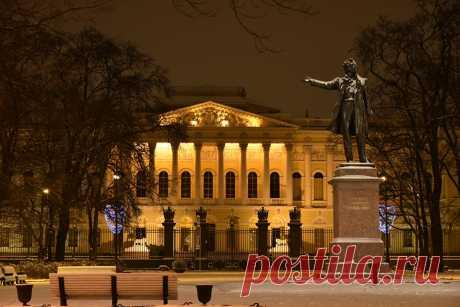 Фотография Санкт-Петербург Россия Музей Памятники Городская площадь