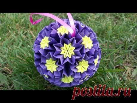 Что Подарить На День Рождения, 8 Марта, День Матери. Бюджетные Идеи. Подарки Своими Руками: объемные шары из бумаги, открытки, цветы из бумаги, композиции - YouTube
