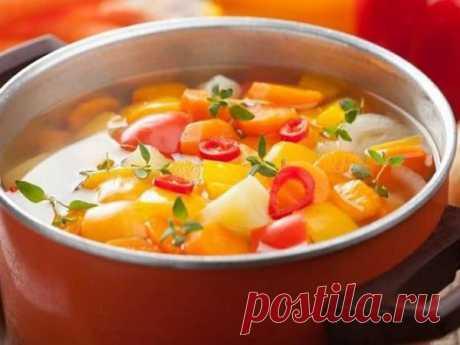 Худеем на 7 кг за неделю: супер простой секрет похудения при помощи жиросжигающего супа — Женские секреты