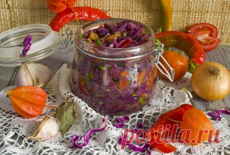 Овощная солянка на зиму. 3 необычных рецепта.