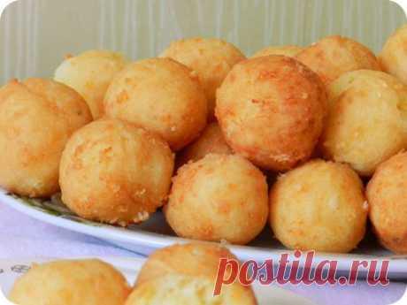 вкусные, необычные и ароматные ПОНЧИКИ из картофеля с сыром (без дрожжей!).