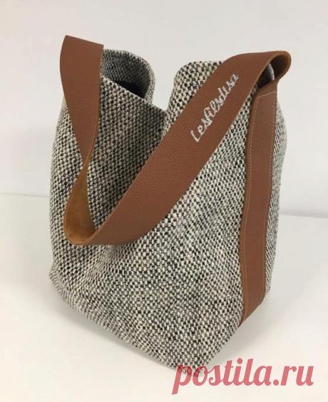 """Простенько и со вкусом! Подборка идей сумок без лишних """"наворотов"""", которые можо сшить самостоятельно.   Handmade для всех   Яндекс Дзен"""