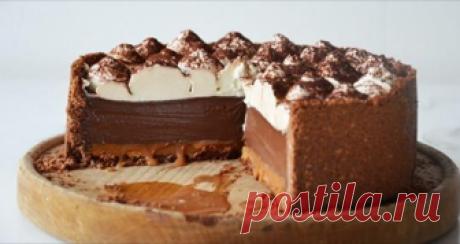 Шоколадный пирог с карамелью «Принцесса»