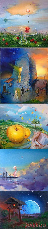 Современные российские художники. Роман Величко....