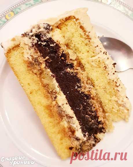 Торт Карамельный банан рецепт с фото пошагово - Сладкие хроники