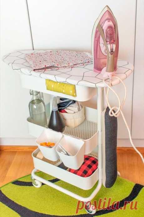 Гладильная станция на колёсах (Diy) Модная одежда и дизайн интерьера своими руками