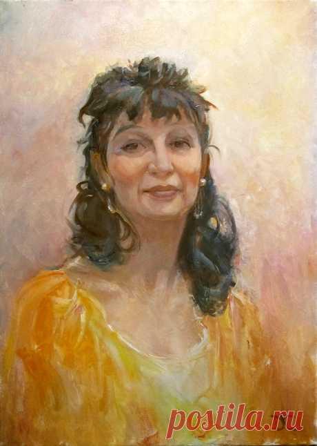 Портреты в реализме на заказ по фото зазмер 70х55см холст, масло Цена 700-800$