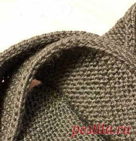 Как сделать плотной и красивой кромку вязаного изделия — DIYIdeas