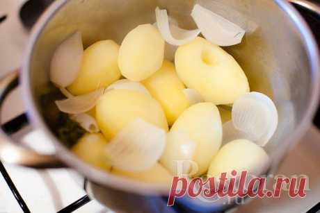 Варим вкусную картошку. Автор: Ольга Барановская