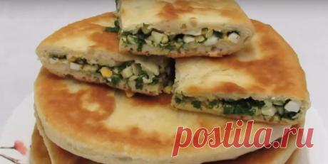Кефирные лепешки с яйцом и зеленью - Четыре вкуса - медиаплатформа МирТесен