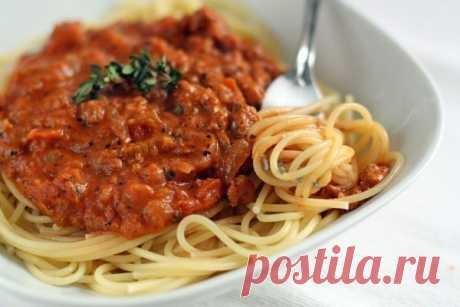 Спагетти болоньезе — Sloosh – кулинарные рецепты