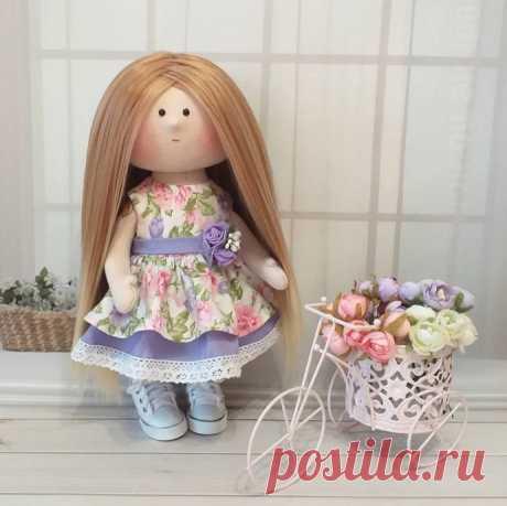 Сарафан для куклы: мастер-класс