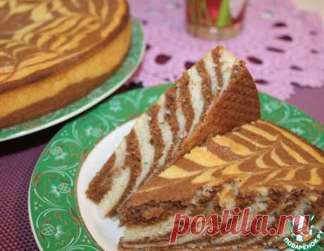 Манный пирог нарядный