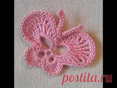 BUTTERFLY SMALL. BUTTERFLY Crochet