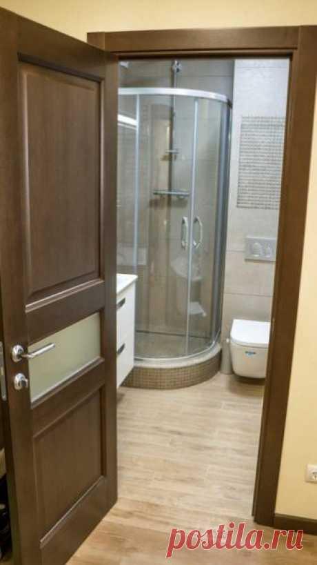 Санузел площадью 3 кв. метра своими руками Ремонт в ванной всегда довольно трудоемкий и дорогостоящий процесс. Но если захотеть, то можно справится с любой поставленной задачей, как сделали владельцы этой ванной комнаты.           Нежный, за с…