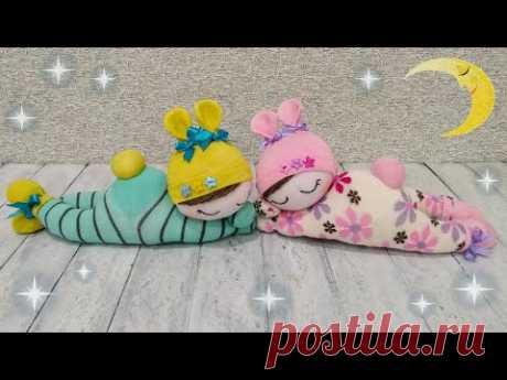 Ваши дети будут в восторге! Милейшие куклы из носков - Your kids will love it! Cutest sock dolls