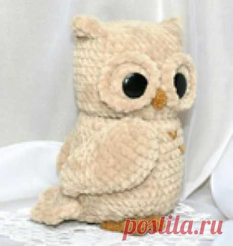 Knitting by a hook of the OWLET. Description of knitting