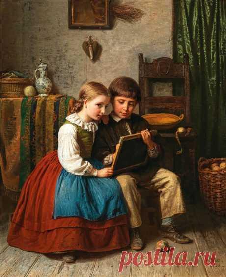 Karl Friedrich Boser (German, 1809-1881)