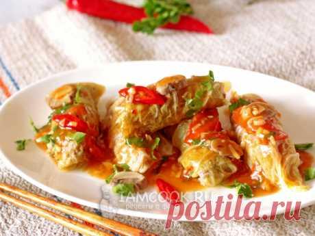 Голубцы по-китайски — рецепт с фото