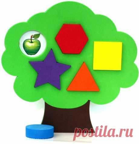 Головоломка-сортер «Дерево» — Купить за 1 848 тг. — ElBasco