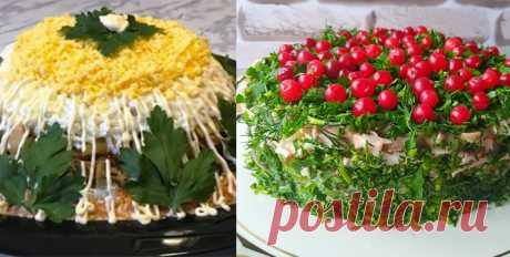 ТОП-2 Рецепты вкуснейших салатиков Вкусно и просто.