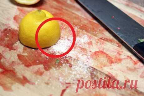 Как почистить разделочную доску? | СОВЕТОФФ | Яндекс Дзен