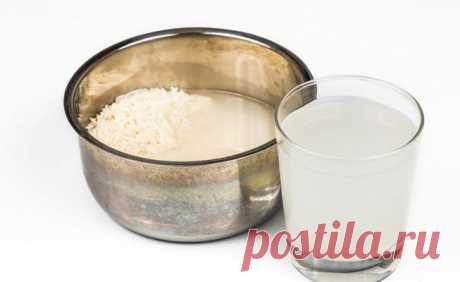 Что такое рисовая вода и для чего она хороша? - Советы для тебя