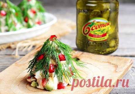 Каждый год на столе одно и то же! Надоело? Вот несколько рецептов оригинальных закусок на Новый год!