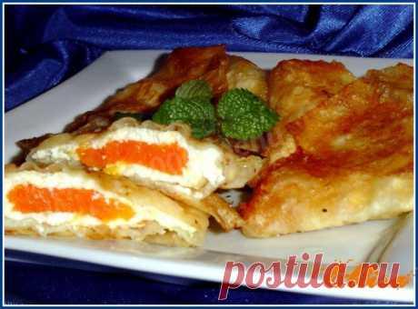 Конвертики из лаваша с начинкой рецепт с фото пошагово - 1000.menu