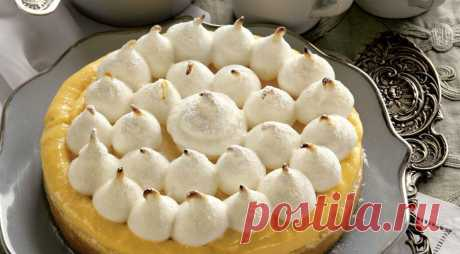 Лимонный пирог с итальянской меренгой — 1001 СОВЕТ