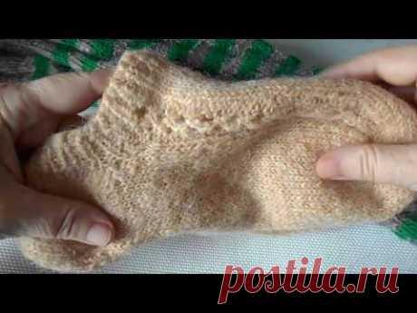 Про носочки из рассказовской ровницы и пряжи