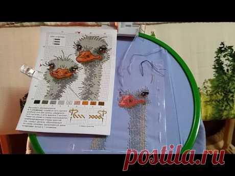 170 #Вышивальная неделя/Влог/Дачи много не бывает/Вышиваем на одежде/