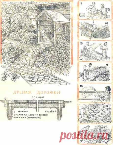 """Стежки-дорожки для вашего сада - Дизайн, интерьер - Сборник - Познавательный Интернет-журнал """"Умеха - мир самоделок"""""""