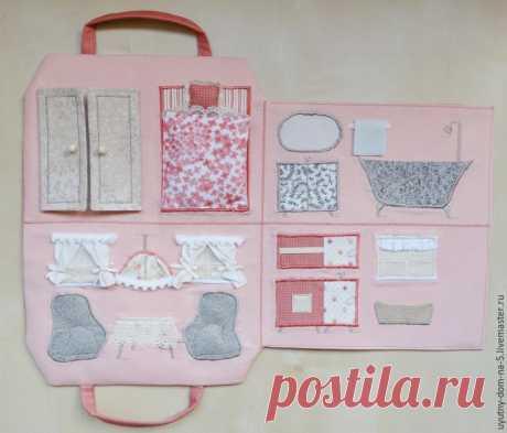 Шьем игровую сумочку-домик для девочки – Ярмарка Мастеров