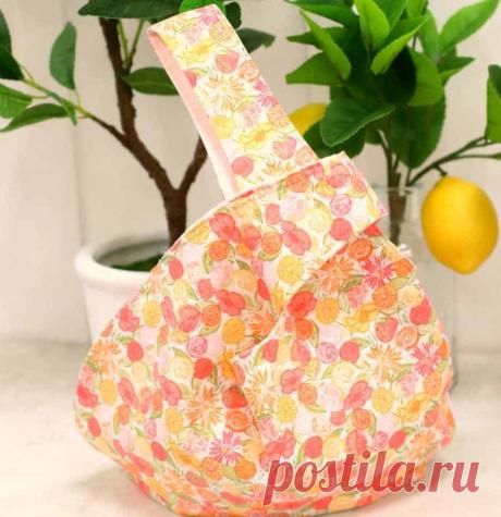 Шьем сумку с японским узлом за 1 час - настолько просто, что справится даже новичок   LT BRANDBOOK   Яндекс Дзен